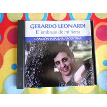 Gerardo Leonardi Cd El Embrujo De Mi Tierra