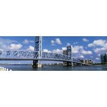 Poster (91 X 30 Cm) Main Street Bridge Jacksonville Florida