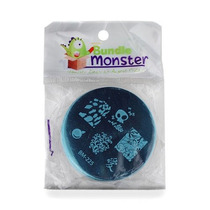 Estampas Disenio Manicure Bundle Monster Colleccion 2012