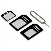 Multi Adaptador De Nano Sim A Micro Sim Y Sim Normal