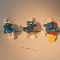 Los Pitufo Figuras Peyo Vintage 80