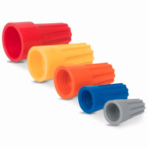 20 Capuchones Para Empalme De Cables Plastico Voltech 47330