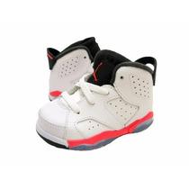 Tenis Air Jordan 6 Retro (bp) Sport Blue Infantil Boys