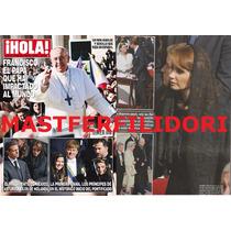 Angelica Rivera Papa Francisco Revista Hola Marzo 2013