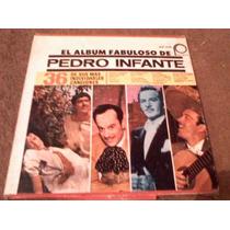 Disco Triple Acetato De El Album Fabuloso De Pedro Infante