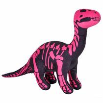 Dinosaurio Apatosaurio Esqueleto Que Brilla En La Oscuridad