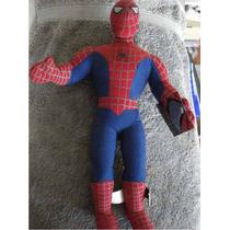 Spiderman / Hombre Araña Figura De Peluche 20 Cms Original