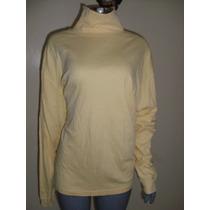 Blusa Talla Xl Color Amarillo Canario Marca L.l. Bean