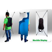 Display Mochila Exhibidor, Promocion, Banner, Activaciones