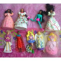 Lote De Barbie Y Ken Miniaturas Modelos 2