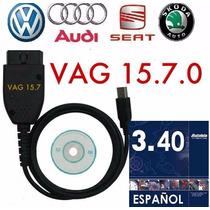 Vag Com 15.7 Toda La Linea Vw Seat Audi 2016