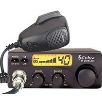 Radio Cb Cobra 40 Canales 19 Ultra Iii Microfono Reburbished