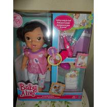 Muñeca Baby Alive Bebé Blanca Sonrisa
