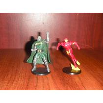 Marvel 2 Figuras Iron Man, Dr. Doom