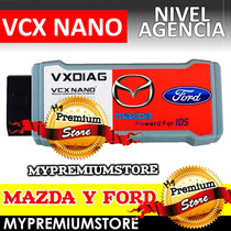 Escaner Ford Vcx Nano Diagnostico Automotriz Nivel Agencia