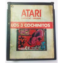 Los 3 Cochinitos Atari 2600 Cartucho Retromex Tcvg