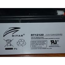 Bateria 12v A 12 Ah, Para Ups, Alarmas, O Carritos Electrico