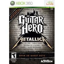 Guitar Hero Metallica Usado Para Xbox 360 Blakhelmet C Sp