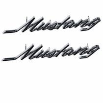 Ford Mustang 69 70 71 72 73 Par De Emblema Polvera