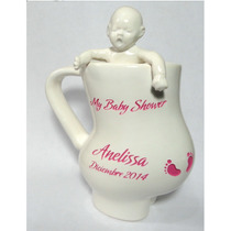 Taza Embarazada Con Bebe Integrado, Para Baby Shower Bautizo