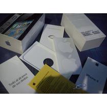 Cajas Iphone4 De 8gb, 16gb Y 32gb Negras O Blancas