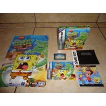 Spongebob Squarepants Nintendo Gameboy Advance Bob Esponja