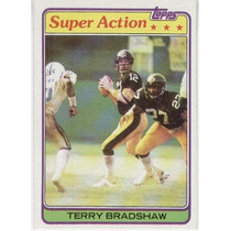 1981 Topps Super Action Terry Bradshaw Pittsburgh Steelers