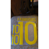Numeracion Espana Euro 2016 Local Visita Fabregas Ramos