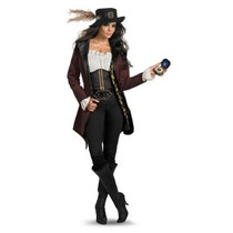 Disfraz De Angelica Piratas Caribe Para Damas, Envio Gratis