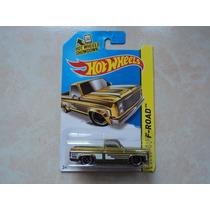 Hot Wheels Llantas De Goma Super T- Hunt Chevy Silverado