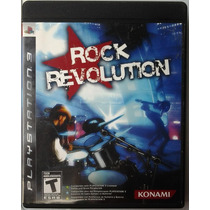 Ps3 Rock Revolution $99 Pesos - Seminuevo - Vendo / Cambio