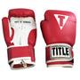 Guantes De Box Title Boxing Classic 14oz Rojo Pálido