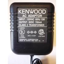 Eliminador / Cargador Para Radio Kenwood De 9 Volts