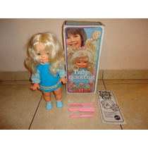 Muñeca Cathy Quick Curl Mattel Año 1974 Completa En Caja +++