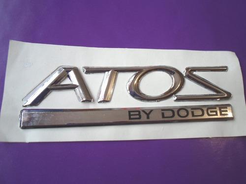 Emblema Atos By Dodge Hyundai Foto 1