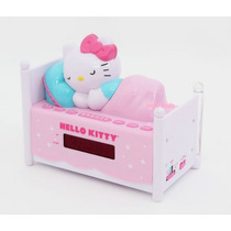 Hello Kitty Radio,reloj,despertador De Camita Original Au1