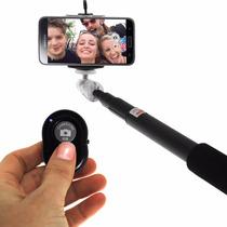 10 Pzs Baston Selfies Stick Bluetooth Iphone Android Mayoreo