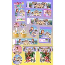 Kit Imprimible Sofia Princesita Personalizado Mas 30 Etiquet