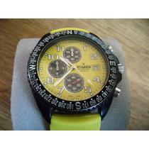 Reloj Visage Chronograph. Sport. Tamaño Grande.