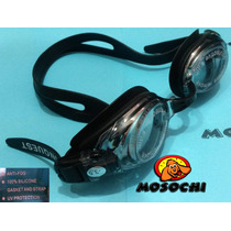 Goggles Natacion Correcion Optica Lente Policarbonato