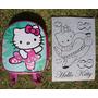 Mochila, Dulcero, Recuerdo Para Fiestas. Hello Kitty.
