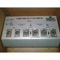 Divisor Spliter Optico Dmx Dmx-2x Chauvet Dj Crown Cd Ampli
