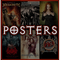 Posters De Bandas De Metal (heavy, Death, Black, Tharsh....)