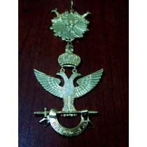 Joya Masonica Grado 33 En Metal Dorado