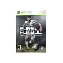 Pure Futbol Xbox 360 Con Portada Y Manual