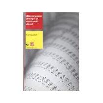 Libro Editar Para Ganar Estrategias De Administracion Editor