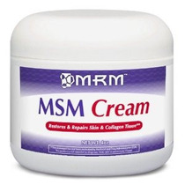 Mrm Msm Crema Peso Neto. 4 Onzas.