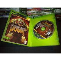 Doom 3 Xbox Completo Seminuevo Impecable Caja Disco Y Manual