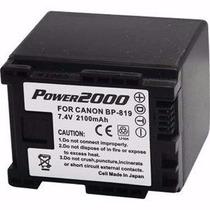 Batería Canon Para Videograbadorasvidpro Acd-762 4-horas