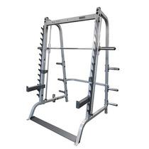 Gym Smith Machine Con Rack Para Peso Libre Con Barra, 2 En 1